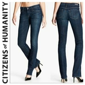 CITIZENS OF HUMANITY JEANS AVA STRETCH STRAIGHT